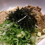 WEST - お肉も胡麻もラー油のつけ汁も良い感じの辛麺。