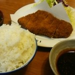 34132499 - ロースカツ定食1590円