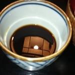 34132816 - 関東風のつけ汁。関西風にも変更