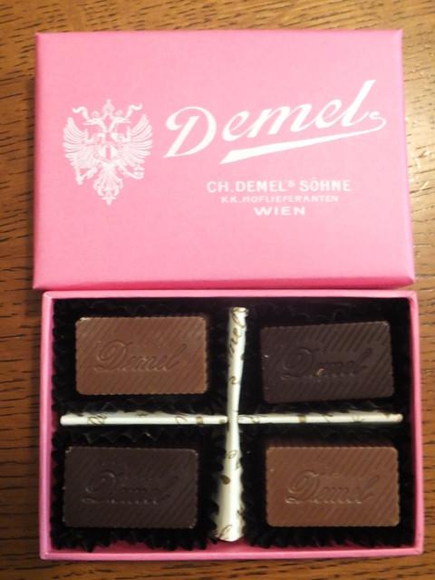 チョコ デメル
