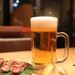ハンバーグファクトリー - 生ビール大