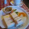 フォンテンブロー - 料理写真:サンドイッチモーニング