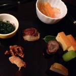 懐石料理 花壇 - 八寸(2014/12)