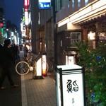 銀座 鮨青木 - gaikan