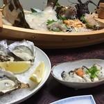 美浦荘 - 料理写真:晩御飯の一部