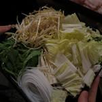 木村屋本店 - しゃぶしゃぶの野菜
