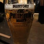 木村屋本店 - ピッチャーから注いだビール