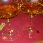 喃喃 - ロワール シュナンブランの 甘口ワイン、今日抜栓