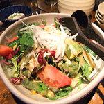 旬菜 籐や - コースのサラダ