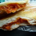リヨン 小麦壱番館 - 赤いトマトのナントカ切ってみた