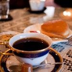 CAFE 森乃談話室 - 料理写真:CAFE 森乃談話室 モーニング 森乃ブレンド珈琲