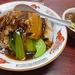 八宝亭 - 料理写真:バラ肉あんかけ炒飯