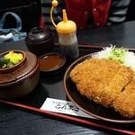 とんまさ - ロースとんかつ定食¥1450