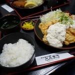 とんまさ - チキン南蛮定食¥1150