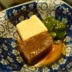 三田 竹若 - (2014/11月)金目鯛の煮付膳の小鉢