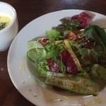 ブリックホール - サラダ(焼きカレーランチセット)