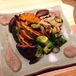 34142650 - 野菜焼き(コンビーフ醤油付き)