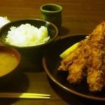 34143459 - 海老フライ定食(3本)
