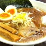 麺屋 あさ蔵 - 味玉煮干醤油ラーメン