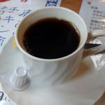水源茶屋 - 名水コーヒー 450円