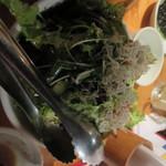 韓国郷土料理 ととり - チリメンジャコサラダ