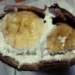 ワゴンボーイ - チョコバナナ生、まるごと1本のバナナ