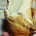 ワゴンボーイ - モンブラン、大量の生クリーム