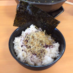 一麺亭 - 料理写真:じゃこ飯