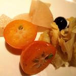 リエーブル - タイハーブでマリネした自家製ピクルス☆キンカンやブドウなど季節の果物を漬けた珍しいピクルス!