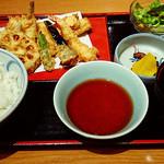 銀座 天國 横浜店 - ランチの天ぷら定食