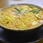 まゆみの店 - キムチ鍋焼きラーメン