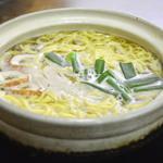 まゆみの店 - 塩鍋焼きラーメン