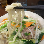 ちょーでーぐぁ - 野菜すば 710円