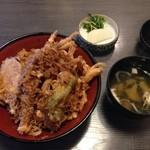 天よし - 料理写真:白えびかき揚げ天丼