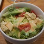 豆の王国 - 湯葉サラダ