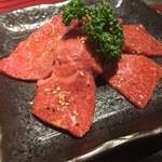 黒毛和牛焼肉ぜん - 黒毛和牛とうがらし(980円)