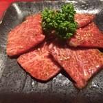 黒毛和牛焼肉ぜん - 王様のカルビ(1,380円)