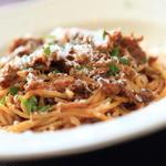 イル・クッチョロ - 「スパゲッティー二 舞茸とミートソース」