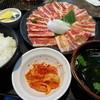 安楽亭 - 料理写真:特盛りダブルカルビ250ランチ(1050円)