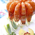 鳳家 - 大海老の四川大辛味炒め