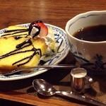 かふぇ・ど・くら - バターケーキセット(キリマンジャロ)