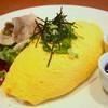 スプーン スイーツマーケット - 料理写真:松阪豚のしゃぶしゃぶオムライス