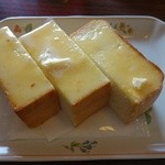 カフェ・ラ・セゾン - トースト
