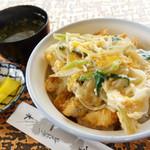 おべんとハウス一木 - 料理写真:2013年6月 ハモカツ丼1000円