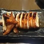 串カツ 中崎きりがね食堂 - コースメニューのイカ焼き☆