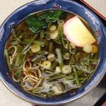 増田屋 - 山菜そば