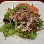 中華料理 ハルピン - 棒々鶏サラダ 2015年1月
