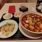 34164669 - 麻婆豆腐麺セット
