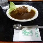 カレー&コーヒー アフリカ - カツカレー小¥100