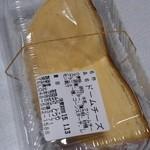 和洋菓子処とらや - ドームチーズケーキ1パック 230円